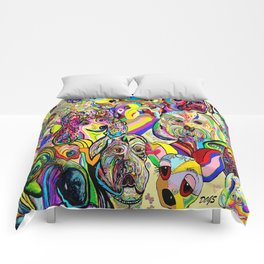 Dogs, DOGS, DOGS!! Comforters