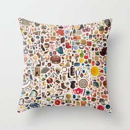 INDEX Throw Pillow