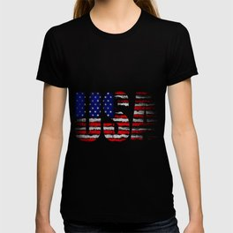Distressed USA Flag T-shirt