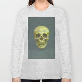 Yellow pop candy skull 3D render. Long Sleeve T-shirt