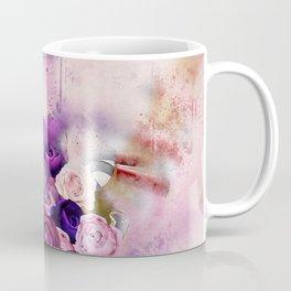 Vintag Bicycle and Flowers Coffee Mug