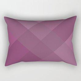 Purple geometry Rectangular Pillow