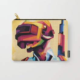 Soldier Pop Art Design Carry-All Pouch