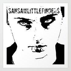 Sansa and the Littlefingers Art Print