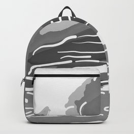 abstract style aurora borealis absbwi Backpack