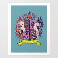 The Royal Aquarium Souvenir Shop Art Print