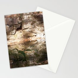 Abstract Reflection in Water Stationery Cards
