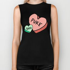 VALENTINE'S DAY SUCKS Biker Tank