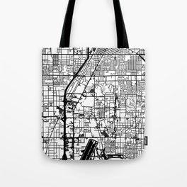 Las Vegas city map Tote Bag
