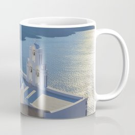 Santorini Island, Greece Coffee Mug