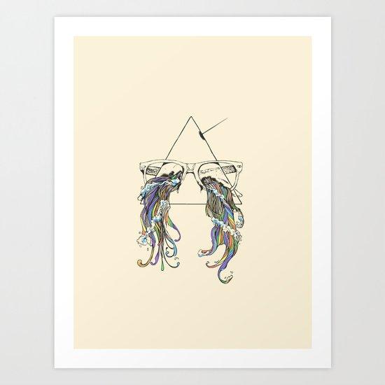 Wayfarer Prism Art Print