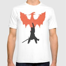Dragon Age: Inquisition V1 White Mens Fitted Tee MEDIUM