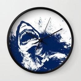Patrick Swanson in Navy Wall Clock