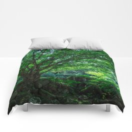 The Greenest Tree Comforters