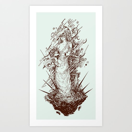 des cartisae Art Print