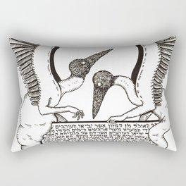 Unclean Angels Rectangular Pillow