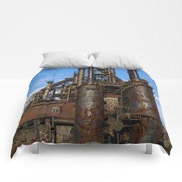 Bethlehem Steel Blast Furnaces Comforters