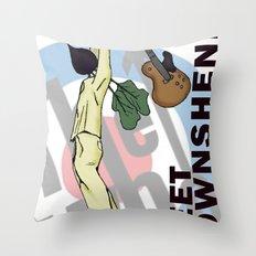 Beet Townshend Throw Pillow