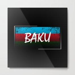 Baku Metal Print