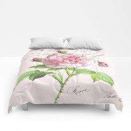 Paris Rose Comforters