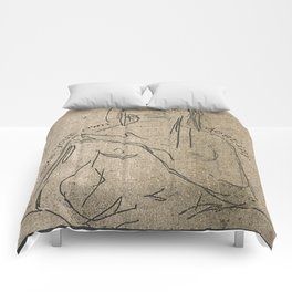 make your own destiny Comforters
