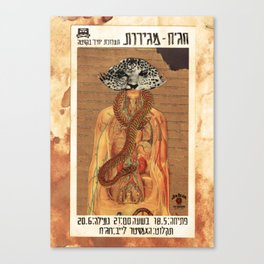 Megirot ANALOG zine Canvas Print