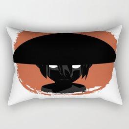 Stone Lady Rectangular Pillow