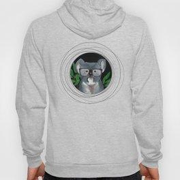 Koala on vinyl Hoody