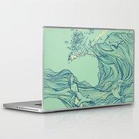 huebucket Laptop & iPad Skins featuring Ocean Breath by Huebucket
