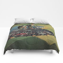 Salmon Farm Comforters