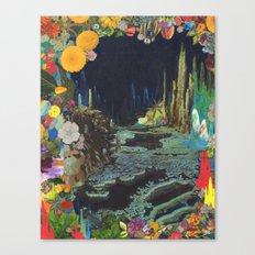 Cave Garden II Canvas Print