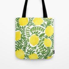 The Fresh Lemon Tote Bag