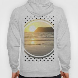 Port Erin - small triangle graphic Hoody