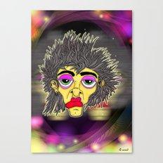Space Face Canvas Print