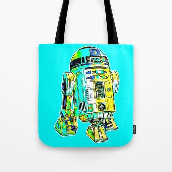 R2D2 Digital Drawing Tote Bag