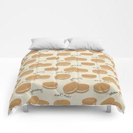 Brown cookies Comforters