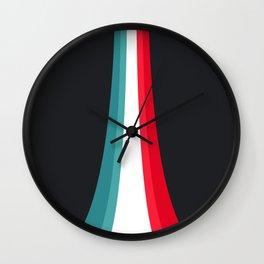 Rising colors Wall Clock