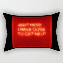 Help Rectangular Pillow
