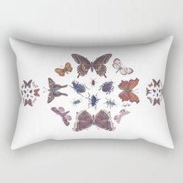 Mosaic of Bugs Rectangular Pillow
