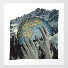 Lift Us. Art Print