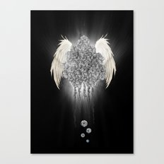 Angel of the chaos Canvas Print