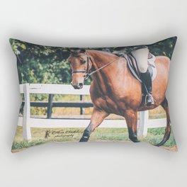 Trotting Bay Rectangular Pillow