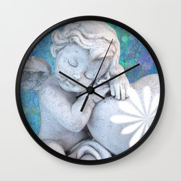 Sweet Angel Wall Clock