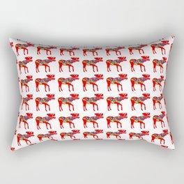 Graphic Dala Moose Multiples Rectangular Pillow