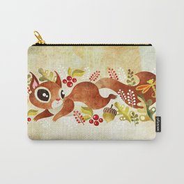 Playful Squirrel Carry-All Pouch