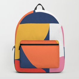Abstract Geometric 17 Backpack