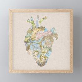 A Traveler's Heart (N.T) Framed Mini Art Print
