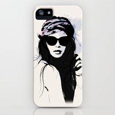 Infatuation - Digital Fashion Illustration iPhone (5, 5s) Slim Case