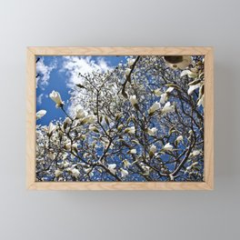 Magnolia Heaven Framed Mini Art Print