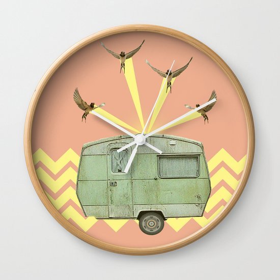 The best way to travel Wall Clock